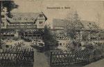 Restauration Casselsruhe um 1900, Bildnummer: bbv_00269