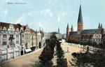 Münsterplatz, Heliochromdruck um 1905, Bildnummer: bbv_00402