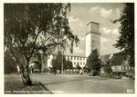 Universitätsklinik Venusberg, Fotografie um 1950, Bildnummer: bbv_00890