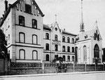 Krankenhaus der Barmherzigen Brüder (Petruskrankenhaus) um 1905, Bildnummer: bbv_00119