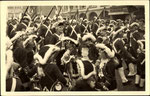 Rosenmontag 1952 auf dem Bonner Markt, Bildnummer: bbv_00846