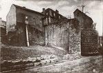 """Der sogenannte """"Botterweck"""", ein 1644 aufgeworfenen Hügel zur Stadtbefestigung zwischen Münsterstraße und Bottlerplatz, Fotografie um 1880, Bildnummer: bbv_01169"""