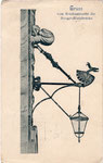 Das Bröckemännche an der alten Rheinbrücke, Bildnummer: bbv_01133