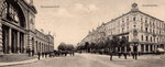 Bahnhofstraße um 1905, Bildnummer: bbv_00206