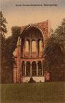 Klosterruine Heisterbach, Heliochromdruck um 1905, Bildnummer: bbv_00968