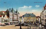 Marktplatz, Heliochromdruck um 1910, Bildnummer: bbv_00388