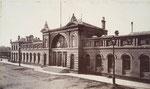 Hauptbahnhof, Fotografie von 1891, Bildnummer: bbv_00136