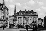 Marktplatz um 1910, Bildnummer: bbv_00738