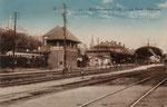 Hauptbahnhof und Rheinuferbahnhof von hinten, um 1905, Bildnummer: bbv_01246