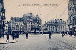 Marktplatz um 1920, Bildnummer: bbv_01240
