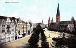 Münsterplatz, Heliochromdruck um 1905, Bildnummer: bbv_00659