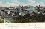 Blick auf die alte Rheinbrücke, Bildnummer: bbv_00468