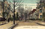 Rheinallee, Heliochromdruck um 1920, Bildnummer: bbv_00463