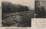Kaiserparade der Königshusaren am 17. Juni 1902 im Hofgarten, Bildnummer: bbv_00573