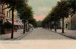 Hauptstraße, Heliochromdruck um 1905, Bildnummer: bbv_00362