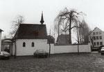 Dransdorf, Burgkapelle, Fotografie um 1980, Bildnummer: bbv_01124