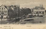 Münsterplatz um 1905, Bildnummer: bbv_00661