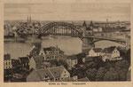 Blick auf die alte Rheinbrücke, Bildnummer: bbv_00762