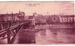 Alte Rheinbrücke mit Blick auf die Synagoge (rechts), Bildnummer: bbv_01065