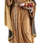 statua Santa Chiara in legno - busto