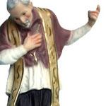 statua Sant' Alfonso cm 20 - mani