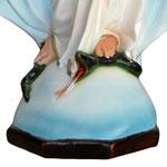 statua Madonna Miracolosa cm 72 - base