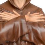 statua San Francesco d' Assisi cm. 103 - mani