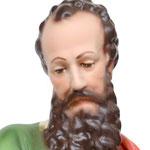 statua San Paolo cm 30 - volto