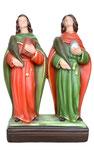 statua Santi Cosma e Damiano cm 28