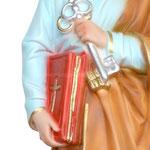 statua San Pietro cm 30 -mani