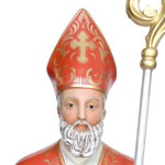 statua San Biagio cm 148 - volto