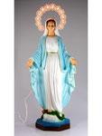 statua Madonna Miracolosa cm 40 resina illuminata