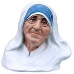 busto Madre Teresa di Calcutta cm 35