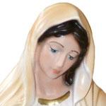 statua Madonna di Medjugorje cm 30 - volto