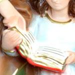 vendita statua Sant Anna in resina cm 30 - mani