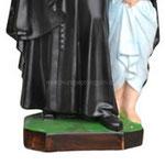 statua San Vincenzo de Paoli cm 40 -base