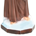 statua San Francesco d' Assisi cm. 55 - base