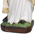 vendita statua Sant' Agnese in resina cm 60 - base