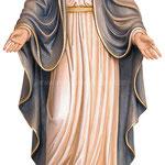 statua Madonna delle Grazie in legno - busto