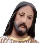 statua San Giovanni Battista cm 40 - volto