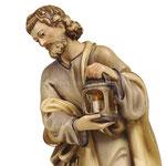 statua Sacra Famiglia con con culla lavorata -Giuseppe