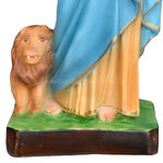 statua San Marco Evangelista cm 43 - base