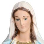 statua Madonna Miracolosa cm 35 - volto
