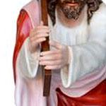 statua Gesù cadente cm 127 -mani