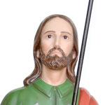 statua San Rocco cm 120 -volto