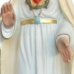 statua Madonna di Fatima cm. 65 - mani