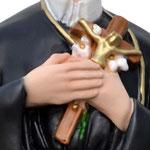 statua San Gerardo cm 43 - mani