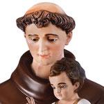 statua Sant' Antonio cm 160 - volto