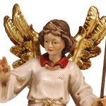 statua angelo indicatore  - volto