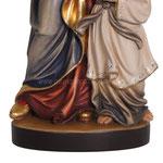 statua Sant' Anna in legno - base